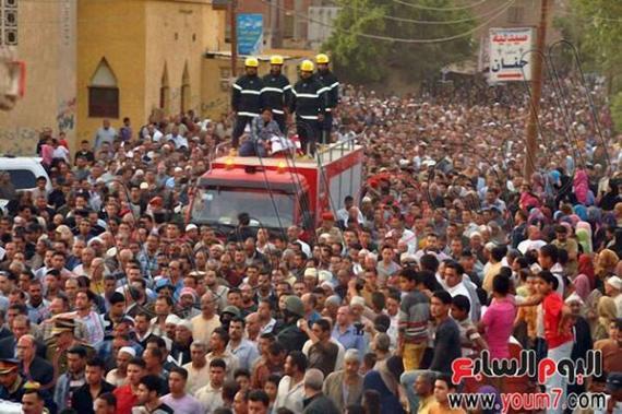 جنازة-الشهيد-أحمد-سعد