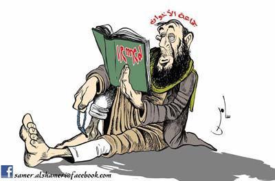 كاريكاتير_إسلام_الإخوان