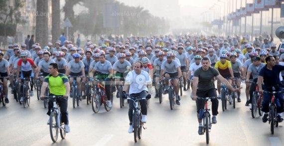 الرئيس-السيسى-ماراثون-الدراجات-3